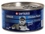 Ontario konzerva Junior Chicken Pieces+Cartilage 200 g