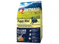 Ontario Puppy Mini Lamb & Rice 750 g
